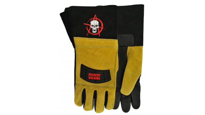 "Gants de soudage 2714 Anarchy ""Full Patch"""