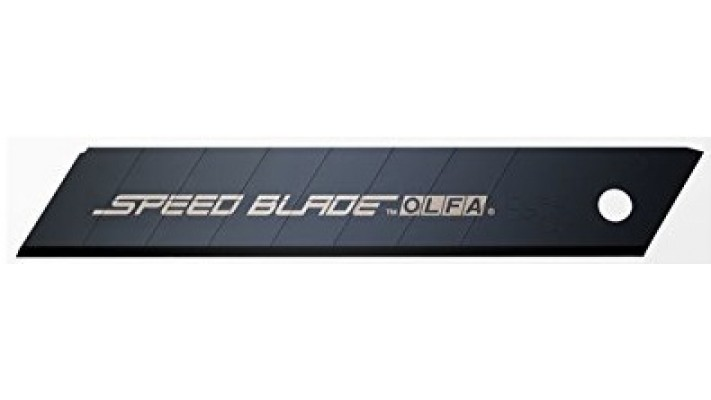 Lames sécables OLFA 18mm ''Speed Blade'' LFB noires